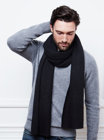Product thumbnail of Men's Ribbed Scarf