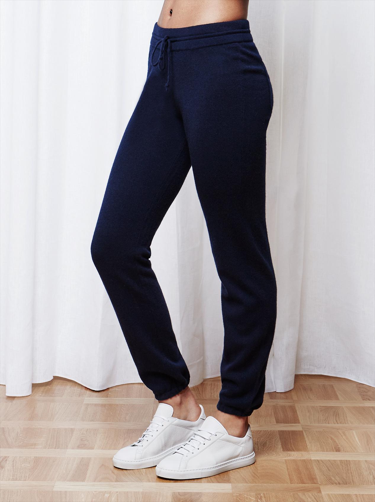 Soft Goat Women's Pants Navy