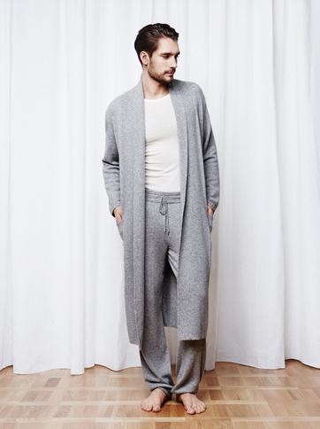Product thumbnail of Men's Bathrobe Grey