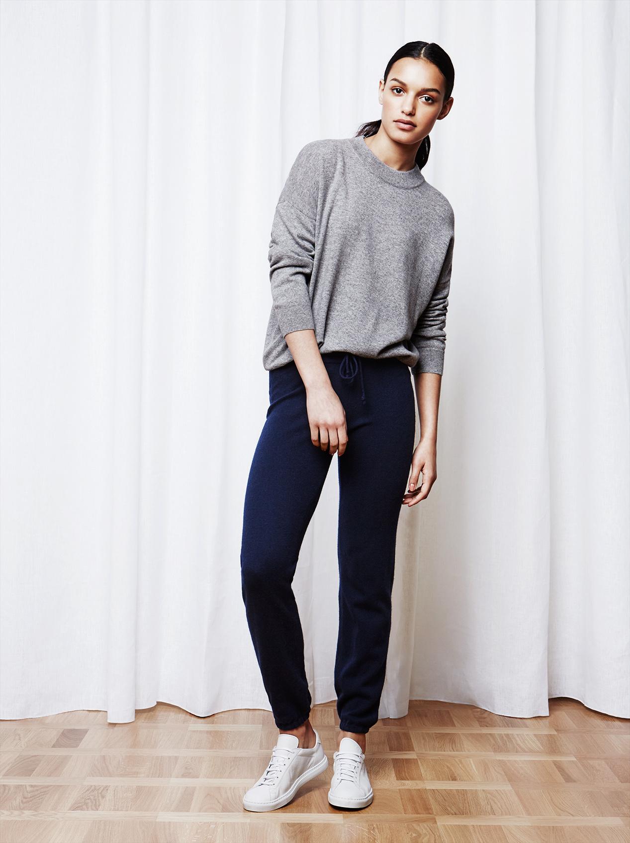 Soft Goat Women's Short Oversize Grey