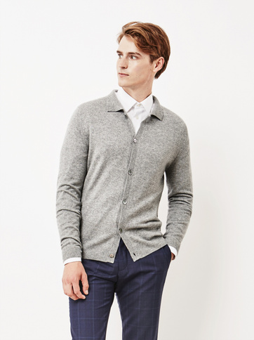 Product thumbnail of Men's Collar Cardigan